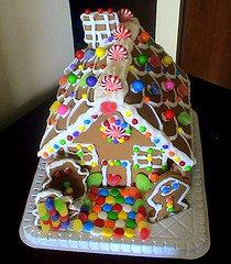 Gingerbread House photo by Leti-ta