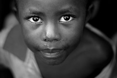 Homeless street child in Kigali, Rwanda photo by Samer M
