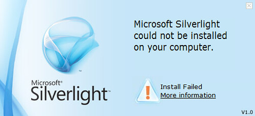 SilverlightInstallFailed
