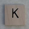 Wooden Tile K