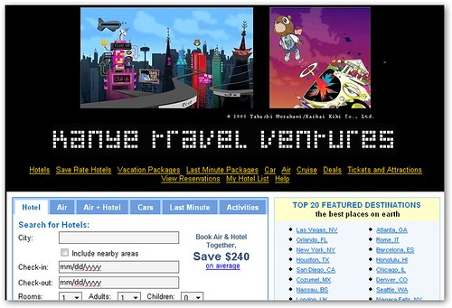 Kanye Travel