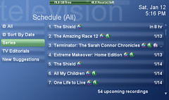 TV Scheduled Recordings