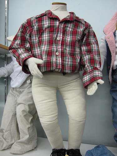 stuffed manikins should wear pants