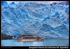 Spegazzini Glacier (Argentina) photo by Juan C Ruiz