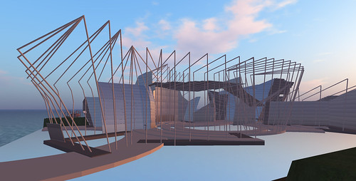 Gehry Inspired Build Opens Thursday, Dec. 6th at 5:30PM SL-time