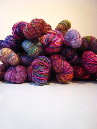 pile of koigu (by mintyfreshflavor)