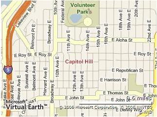 Capitol Hill Map
