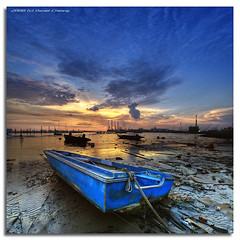 Low Tide - HDR Vertorama photo by DanielKHC