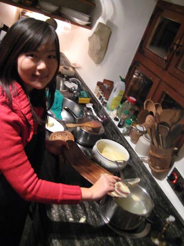 Cooking Späzli