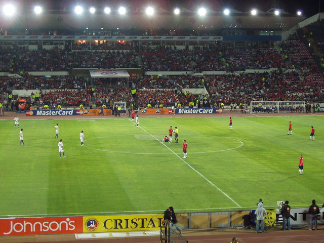 chile vs paraguay chile vs paraguay in the qualifiers for the 2010 ...