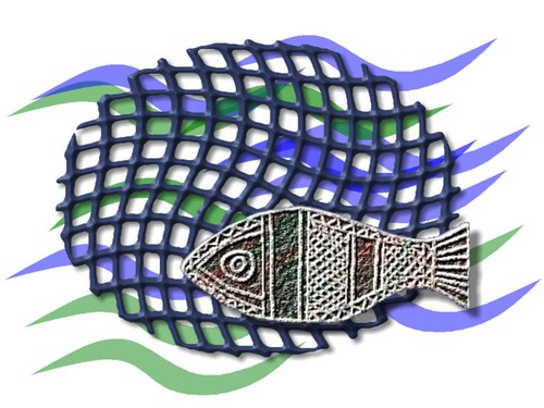 fish and net