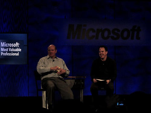 Steve Ballmer at the MVP 2008 Summit