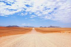 Freeway in Namibdesert. photo by teocaramel