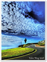 The Road - Hallett Cove in HDR 马 路 photo by Kelvin Wong (Away)