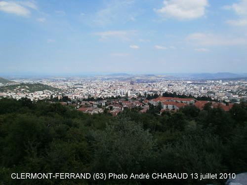 VILLE DE CLERMONT-FERRAND (63-Puy-de-Dôme) CAPITALE DE L'AUVERGNE