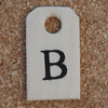 Wooden Tag B
