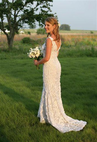 Jenna Bush Wedding Gown