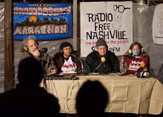 Nashville Homelessness Radio Marathon Photos via cwage