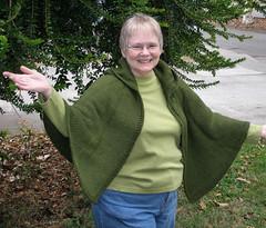20071011 Hooded Cape Hood Down