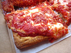 NY Pizza Suprema's 'Upside Down Pizza' (by Slice)