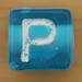Bead Letter P