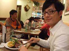 Last dinner of 2007