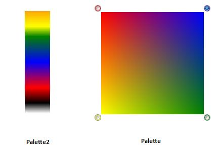 The Other Palette Called In Source Code Takes Four Colors And Blends Them From Corners Of