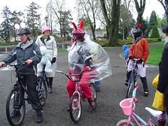 Bunny on a Bike Ride
