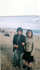 Brighton Beach, Afternoon stroll with Rosie