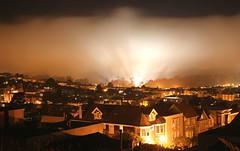 Fog Rolls in on San Francisco photo by Thomas Hawk