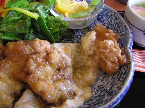 Juicy Juicy Chicken Nanban at Ogura, Nobeoka