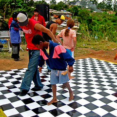 Youth multipliers of Hummingbird's Afro-Break dance group spreading their wings in the community