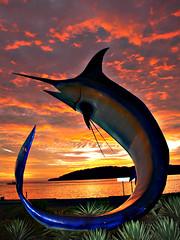 Marlin monument