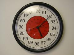 Reloj Hexadecimal