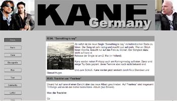 Die 1. deutsche Kanesite