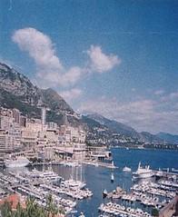 Veduta del Principato di Monaco