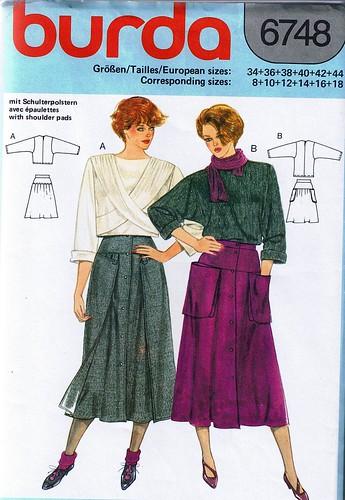 Burda Skirt
