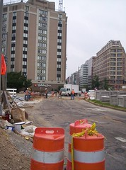 Thomas Circle under reconstruction