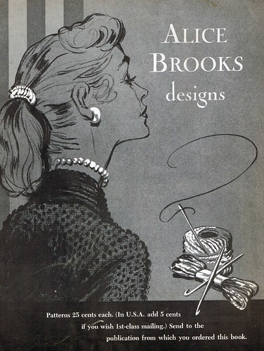 Eleven Alice Brooks Vintage Crochet Patterns with by naturescorner