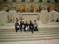 Dalam Musée du Louvre, Paris, France