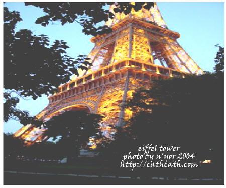 cathcath eiffel tower 2004