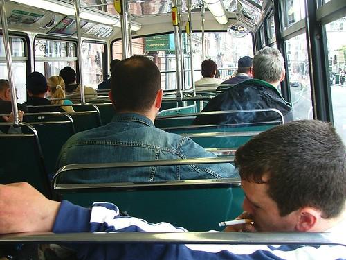 Smoking On The Bus