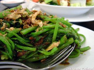 Senses Restaurant - Kangkong Belacan