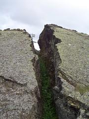 Reykjahlíð Lava Crack