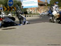 Motorizadas da polícia
