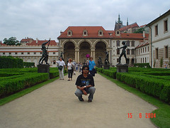 Wallenstein Palace, Prague, Czech Republic