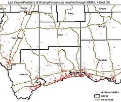 GIScorps Hurricane Katrina Maps - Mississippi