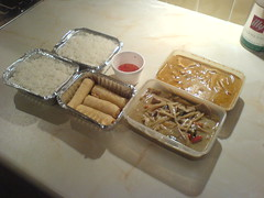 Full Thai takeaway order from Ayutthaya, Edinburgh via grub2u dot com