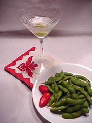 healthy cocktail snack