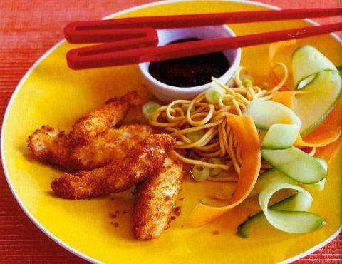Pick & mix noodle plate